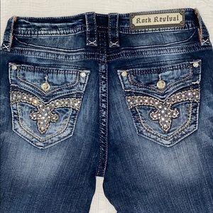ROCK REVIVAL Kerra Easy Skinny Jeans